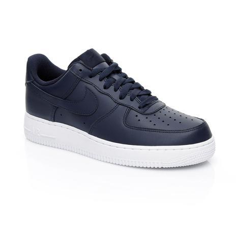 Nike Air Force 1 '07 Erkek Lacivert Sneaker