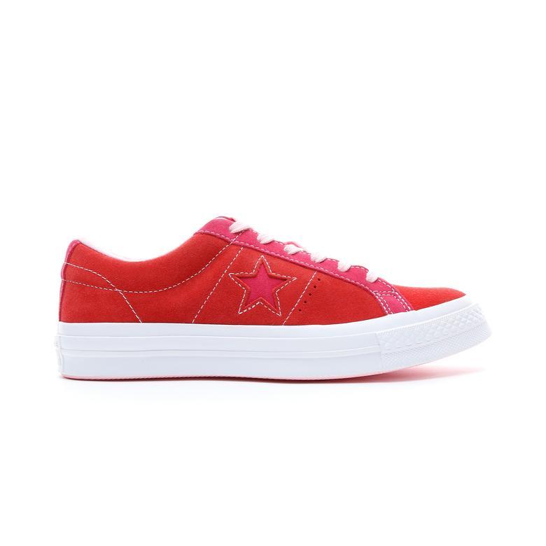 Converse One Star Kadın Kırmızı Ayakkabı