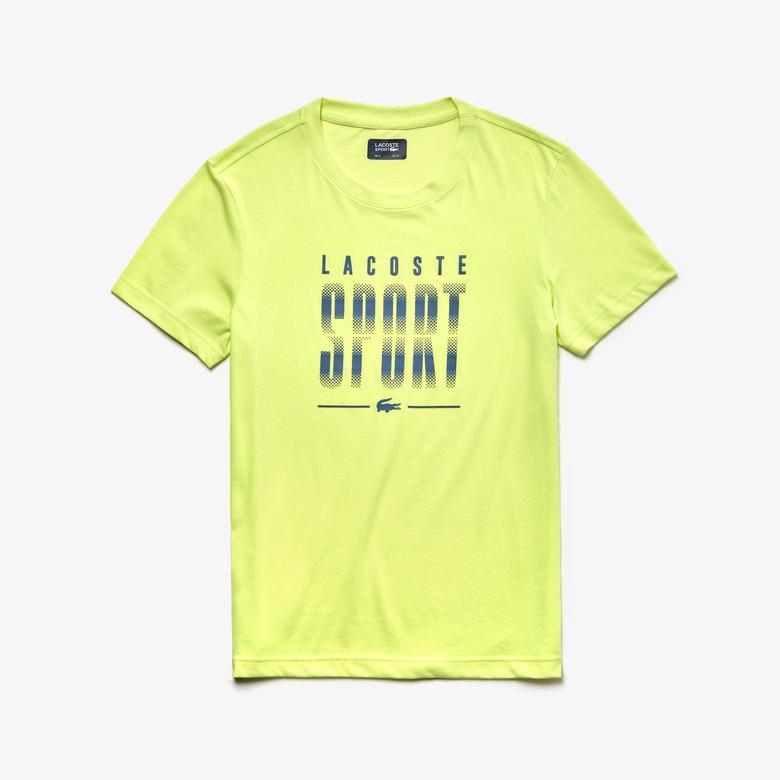 Lacoste Sport Erkek Sarı T-Shirt
