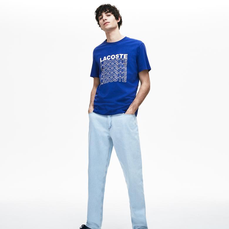 Lacoste Erkek Lacivert T-Shirt
