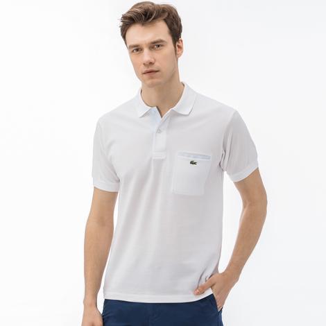 Lacoste Erkek Klasik Fit Beyaz Polo
