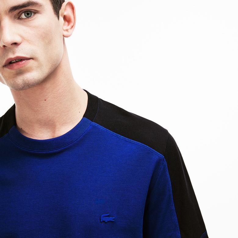 Lacoste Motion Erkek Relax Fit Mavi T-Shirt