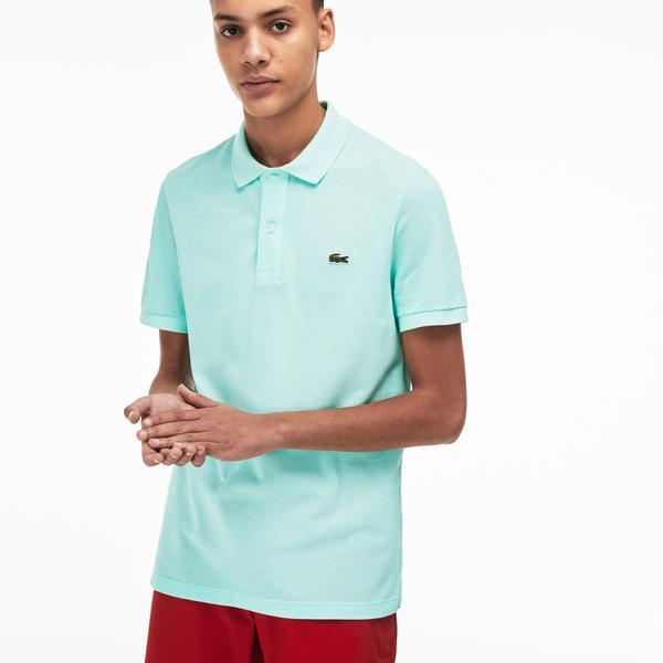 Lacoste Erkek Slim Fit Açık Yeşil Polo
