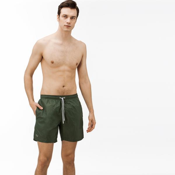 Lacoste Erkek Yeşil Mayoşort