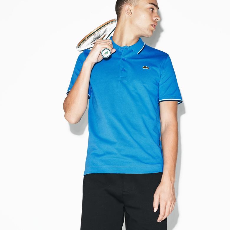 Lacoste Sport Erkek Mavi Polo