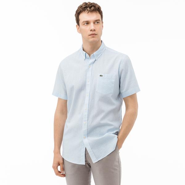 Lacoste Erkek Regular Fit Mavi Gömlek