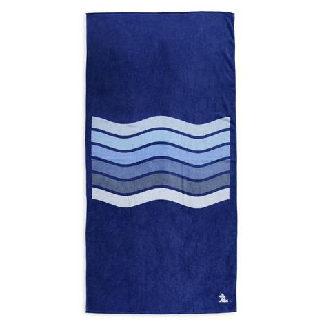 Lacoste Unisex Mavi Plaj Havlusu