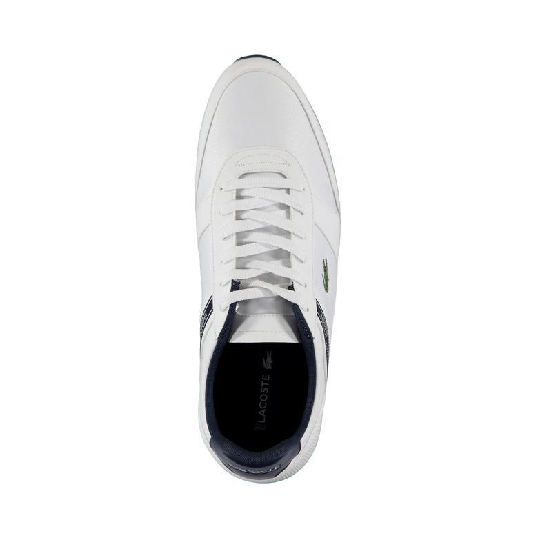 Lacoste Erkek Beyaz - Lacivert Menerva Spor Ayakkabı 119 2 Casual Ayakkabı