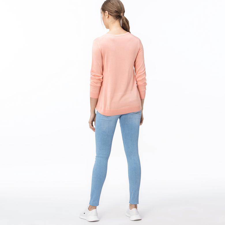 Lacoste Kadın Açık Mavi Jean