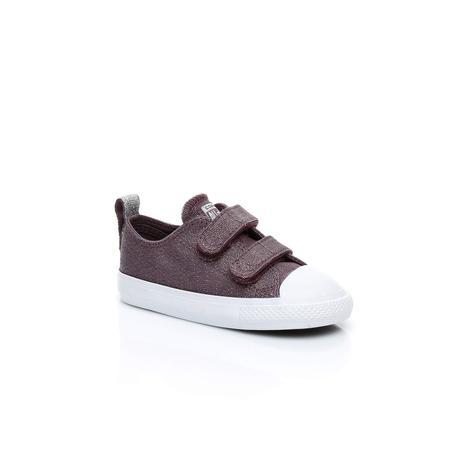 Converse Chuck Taylor All Star V Çocuk Mor Sneaker