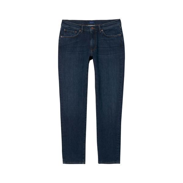 Gant Slim Jean Erkek Lacivert Pantolon