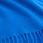 Unisex Mavi Solid Lambswool Scarf Atkı