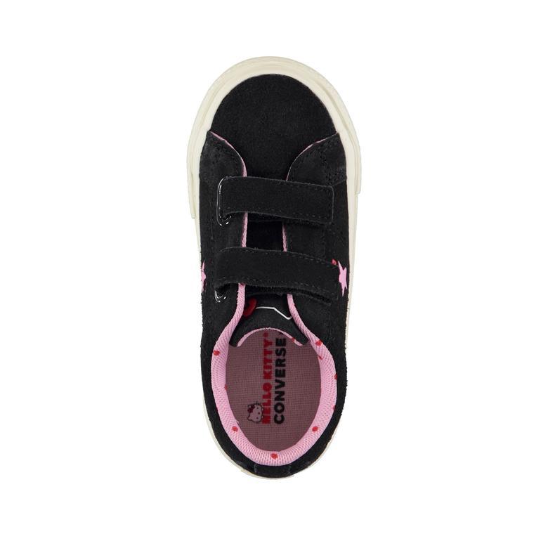 Converse x Hello Kitty One Star 2V Low Çocuk Siyah Sneaker