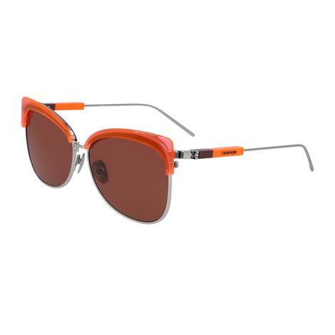 Calvin Klein Unisex Turuncu Gözlük