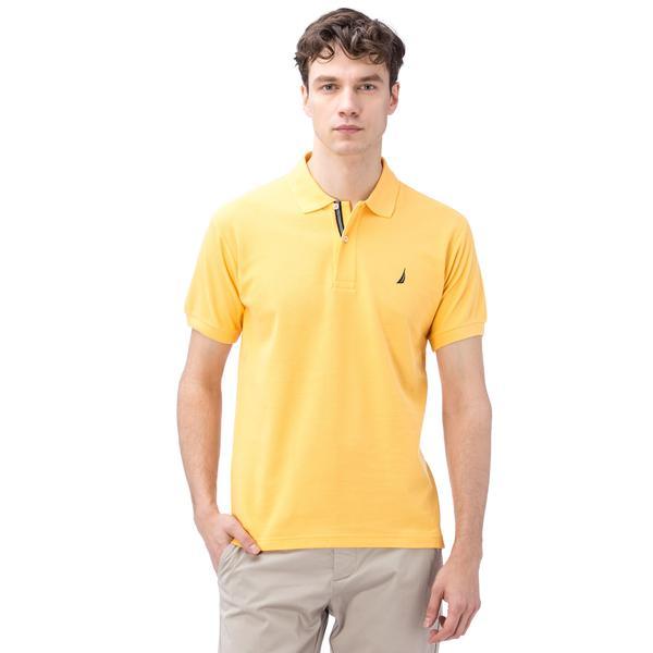 Nautica Erkek Classic Fit Sarı Polo