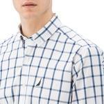 Nautica Erkek Mavi Ekoseli Uzun Kollu Gömlek