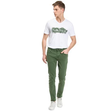 Nautica Erkek Yeşil Slim Fit Pantolon