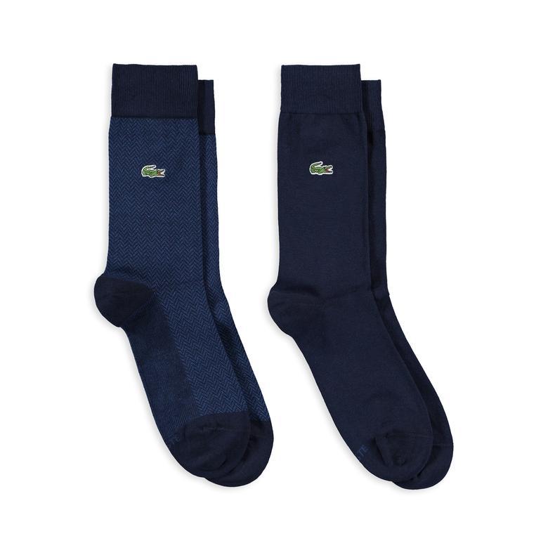 Lacoste Erkek 2'li Lacivert Çorap