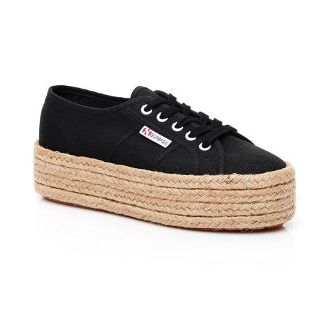 Superga 2790 Cotropew Kadın Siyah Sneaker