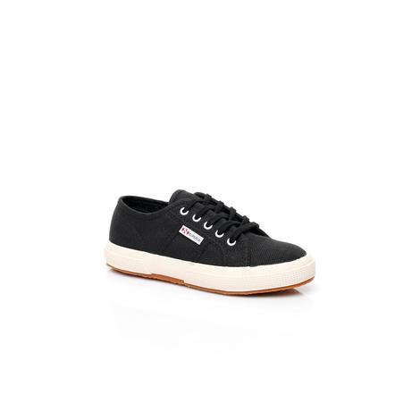 Superga 2750 Jcot Classic Çocuk Siyah Sneaker