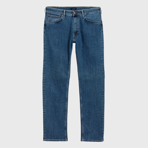 Gant Erkek Regular Fit Mavi Jean