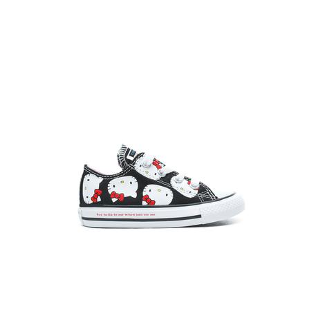 Converse x Hello Kitty Chuck Taylor All Star Çocuk Siyah Sneaker