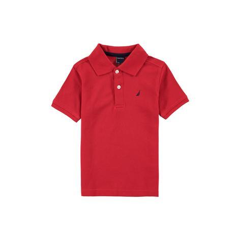 Nautica Erkek Çocuk Kırmızı Polo Set