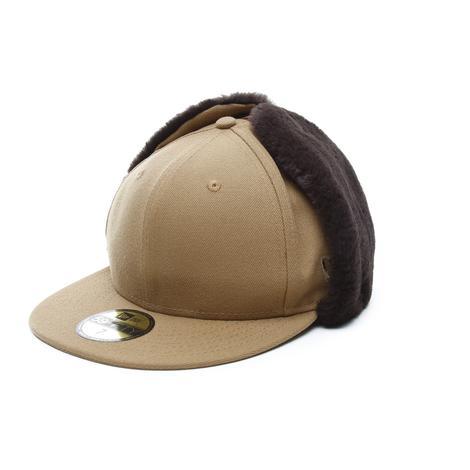 New Era Premium Classic Dogear 59Fifty Unisex Kahverengi Şapka