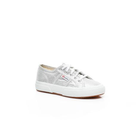 Superga 2750 Lame Çocuk Gümüş Sneaker