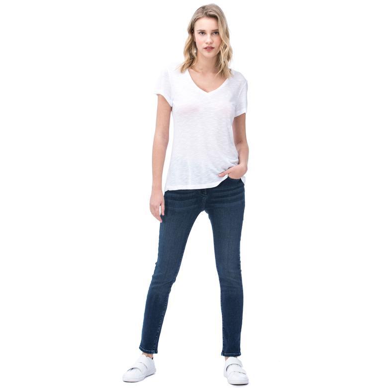 Nautica Kadın Denım Slim Fit Pantolon