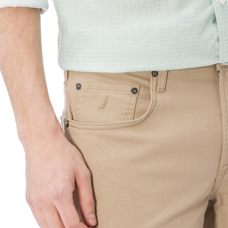 Nautica Erkek Bej Slim Fit Pantolon
