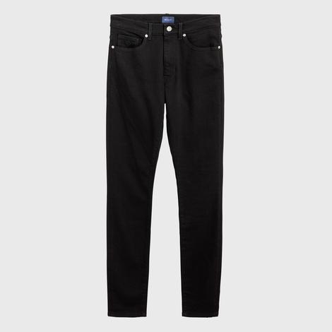 Gant Kadın Siyah Skinny Super Stretch Denim Pantolon
