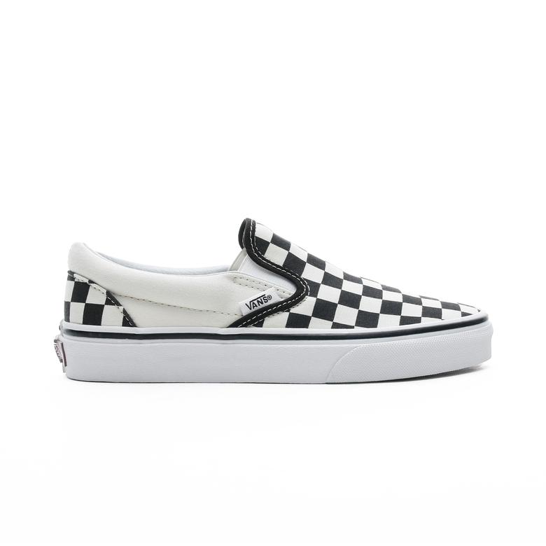 Vans Classic Slip-On Checkerboard Siyah - Bej Unisex Sneaker