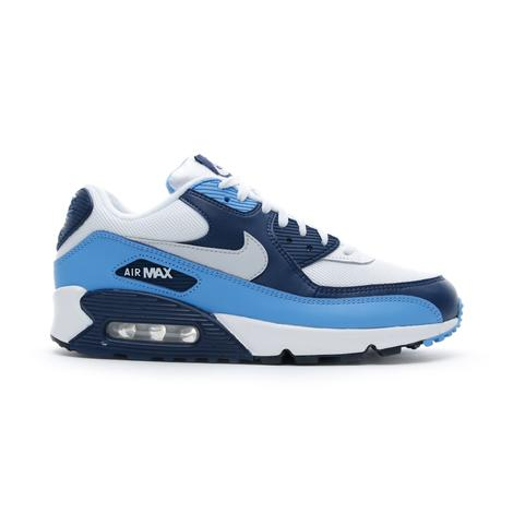 Nike Air Max 90 Essential Beyaz-Mavi Erkek Spor Ayakkabı