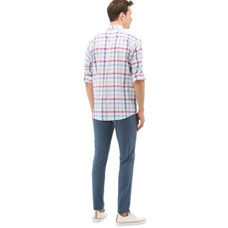 Nautica Erkek Mavi Chino Slim Fit Pantolon