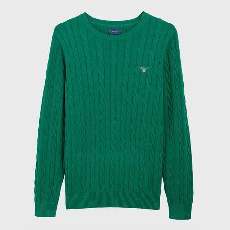 Gant Erkek Yeşil Regular Fit Triko