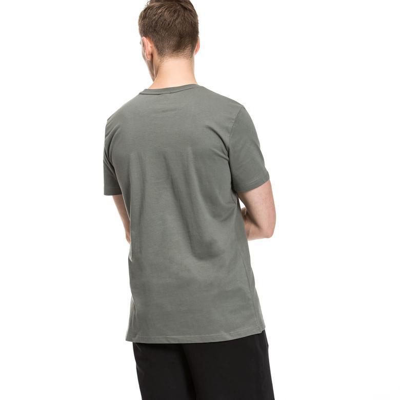Puma Archieve Logo Erkek Gri T-shirt