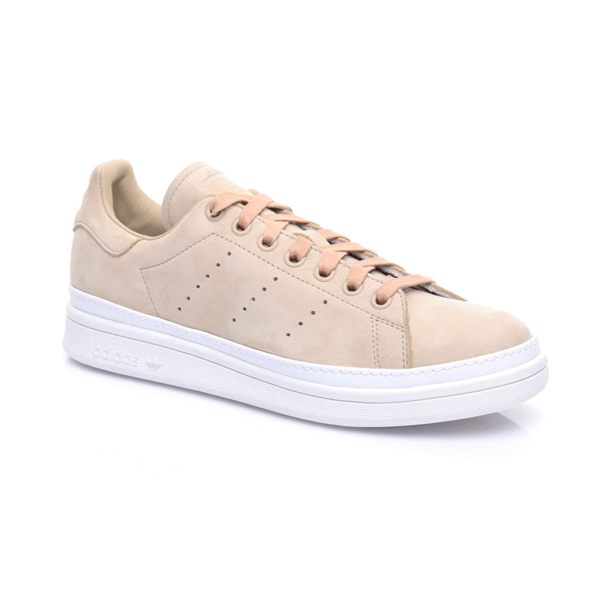adidas Stan Smith New Bold Kadın Bej