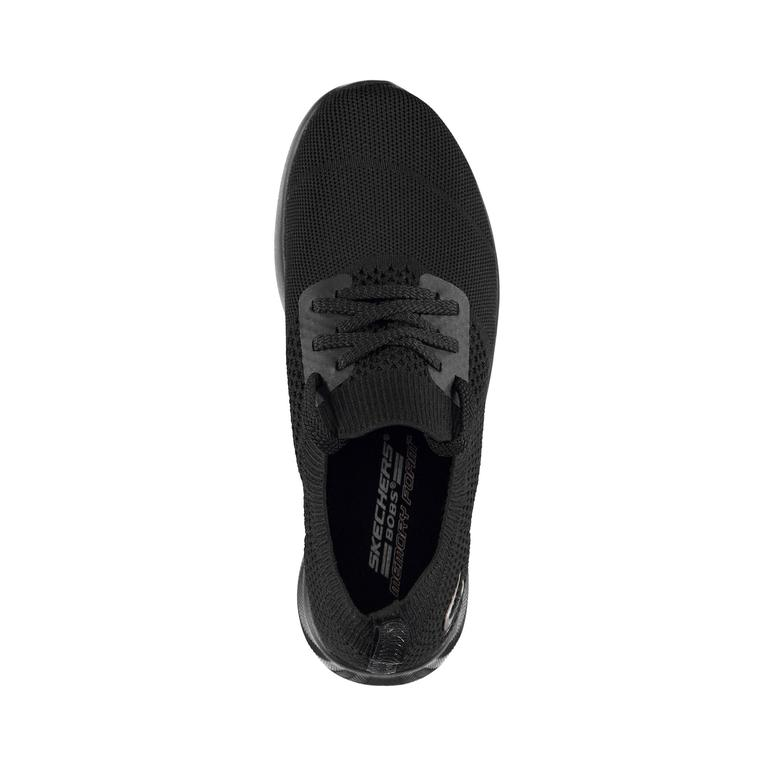 Skechers Bobs Squad 2-Shot Caller Kadın Siyah Spor Ayakkabı