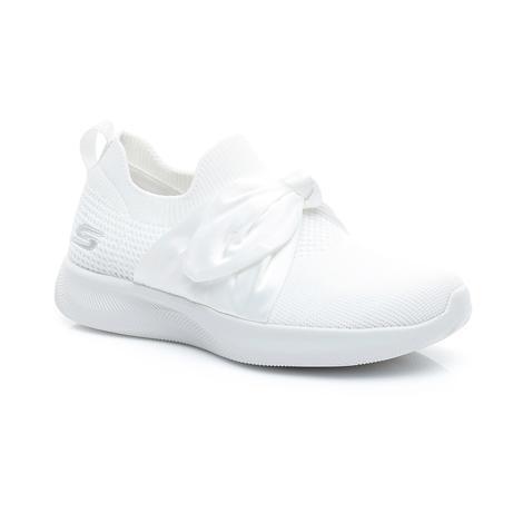 Skechers Bobs Squad 2-Bow Beauty Kadın Beyaz Spor Ayakkabı