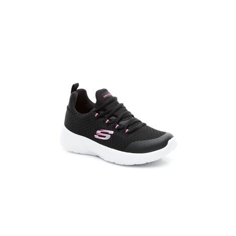 Skechers Dynamight Çocuk Siyah-Beyaz Spor Ayakkabı