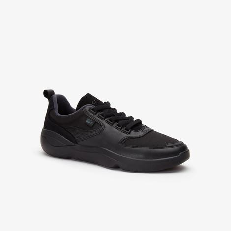 Lacoste Wildcard 319 1 Sma Erkek Siyah Sneaker