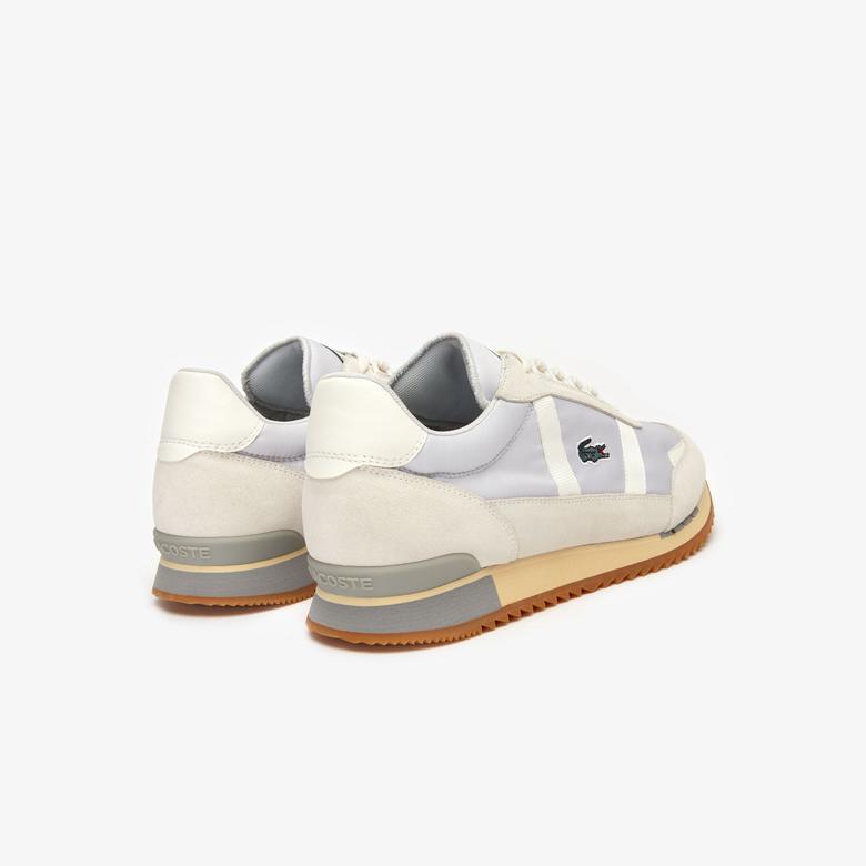 Lacoste Partner Retro 319 1 Sma Erkek Açık Gri - Bej Sneaker