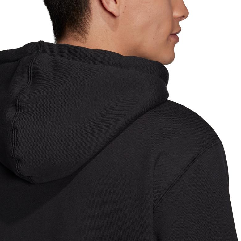 adidas Kapüşonlu Erkek Siyah Fermuarlı Sweatshirt