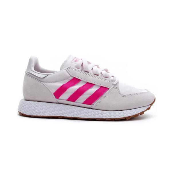 adidas Forest Grove Kadın Gri - Pembe Spor Ayakkabı