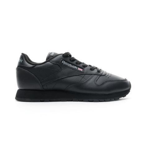 Reebok Classic Leather Kadın Siyah Spor Ayakkabı