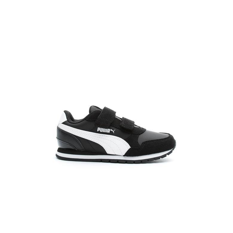 Puma St Runner V2 Çocuk Siyah Spor Ayakkabı