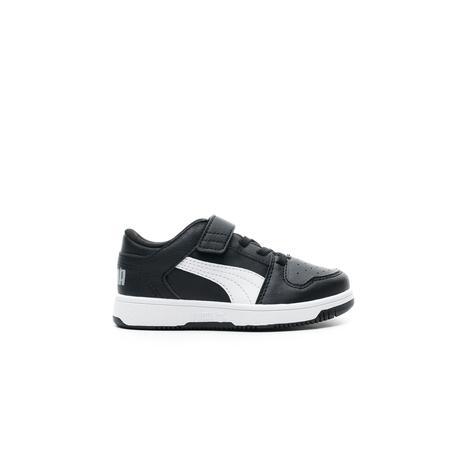 Puma Rebound Layup Lo Çocuk Siyah Spor Ayakkabı