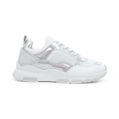 Tommy Hilfiger Lifestyle Iridescent Kadın Beyaz Spor Ayakkabı