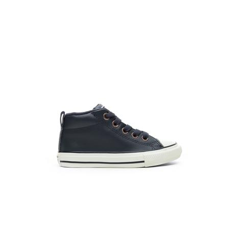 Converse Chuck Taylor All Star Street Mid Çocuk Siyah Sneaker